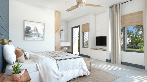 Вилла класса люкс на продажу  Маврикий, 153 м², 3 Спальни, 717949€