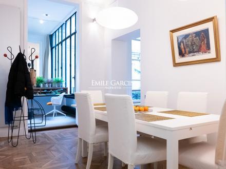 Appartement de luxe à louer PARIS 6E, 95 m², 1 Chambres, 4000€/mois
