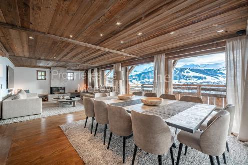 Chalet de luxe à louer MEGEVE, 420 m², 7 Chambres,