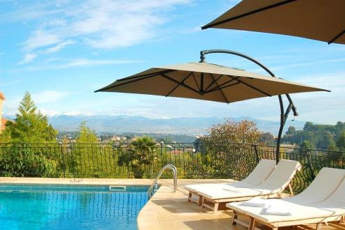 Luxury House for rent VALLAURIS, 233 m², 5 Bedrooms,
