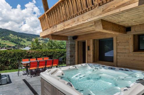 Chalet de luxe à louer MEGEVE, 325 m², 6 Chambres,