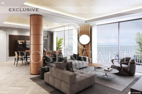 Квартира класса люкс на продажу  Монако, 177 м², 4 Спальни, 9500000€