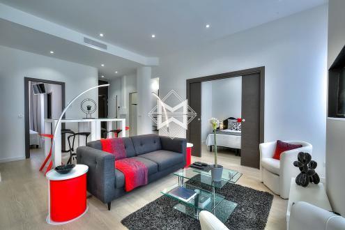 Квартира класса люкс в аренду Канны, 100 м², 4 Спальни,