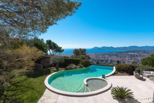 Luxury House for rent LE CANNET, 350 m², 5 Bedrooms,