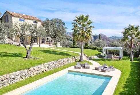 Luxus-Haus zu vermieten MOUGINS, 350 m², 6 Schlafzimmer, 20000€/monat