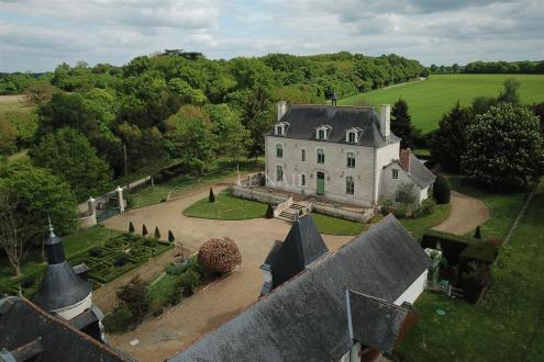 Château / Manoir de luxe à vendre ANGERS, 330 m², 4 Chambres, 1330000€