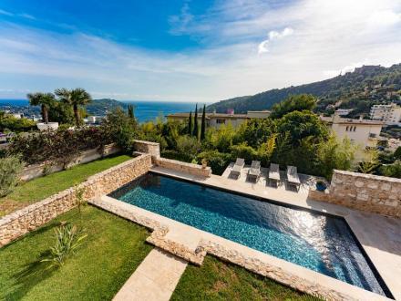 Villa de luxe à vendre VILLEFRANCHE SUR MER, 240 m², 5 Chambres, 2900000€