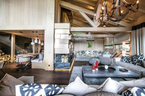 Luxury Chalet for rent MEGEVE, 1 m², 5 Bedrooms,