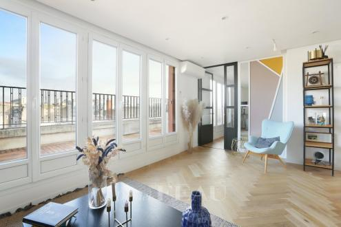 Appartement de luxe à louer PARIS 16E, 85 m², 2 Chambres, 3370€/mois