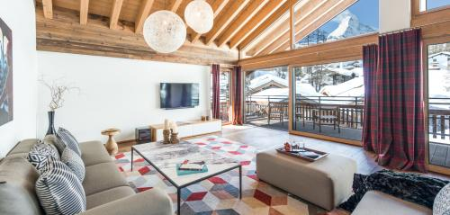 Luxus-Wohnung zu vermieten Zermatt, 240 m², 4 Schlafzimmer,