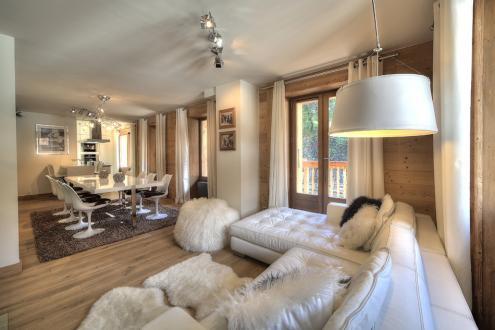 Luxus-Wohnung zu vermieten MEGEVE, 100 m², 3 Schlafzimmer,