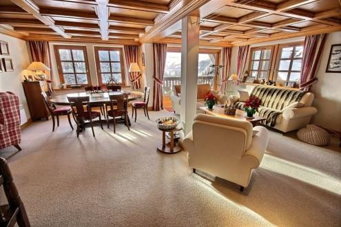 Luxus-Wohnung zu vermieten MEGEVE, 120 m², 3 Schlafzimmer,