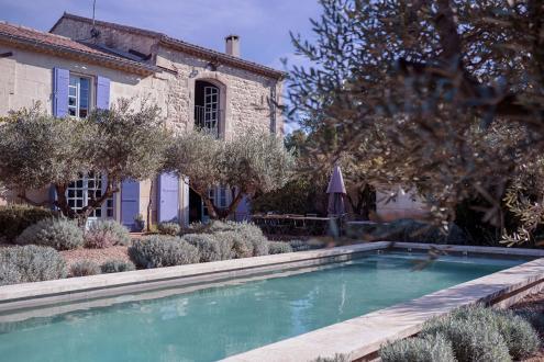 Maison de luxe à louer MAUSSANE LES ALPILLES, 4 Chambres,