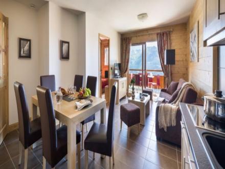 Luxus-Wohnung zu vermieten MONTVALEZAN, 55 m², 2 Schlafzimmer,