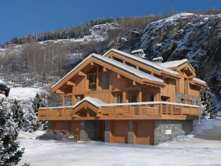 Chalet de luxe à vendre SAINT MARTIN DE BELLEVILLE, 219 m², 5 Chambres, 1322000€