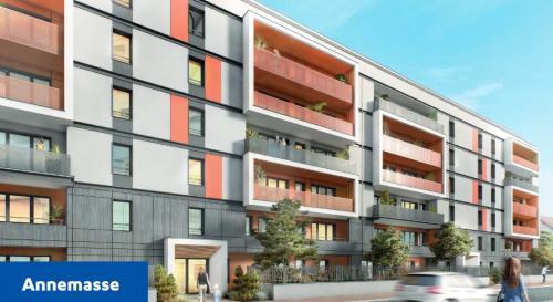 Appartement neuf de luxe à vendre ANNEMASSE, 109 m², 3 Chambres, 612000€