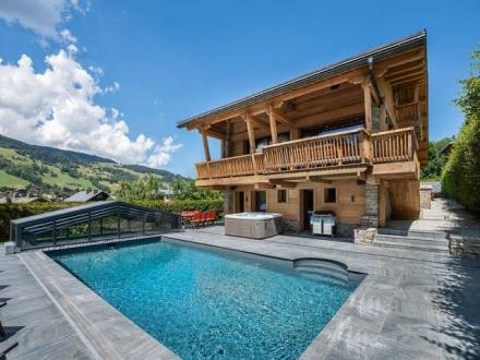 Casale di lusso in affito MEGEVE, 325 m², 6 Camere,