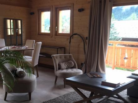Chalet de luxe à louer CHAMONIX MONT BLANC, 110 m², 3 Chambres,