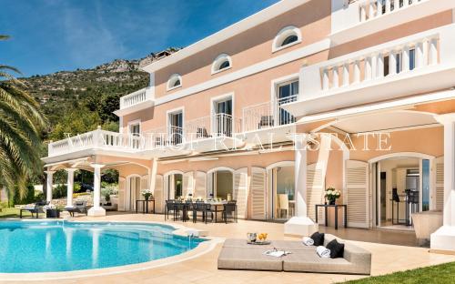 Luxus-Haus zu vermieten CAP D'AIL, 350 m²,