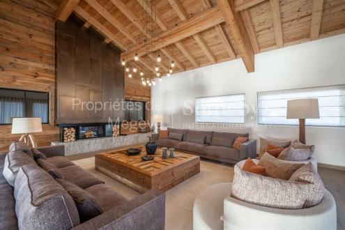 Chalet de luxe à louer MEGEVE, 700 m², 9 Chambres,