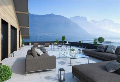 Luxury Apartment for sale SEVRIER, 163 m², 4 Bedrooms, €1545000