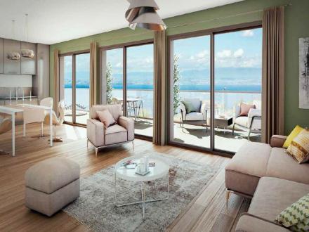 Luxus-Wohnung zu verkaufen NEUVECELLE, 88 m², 3 Schlafzimmer, 526000€