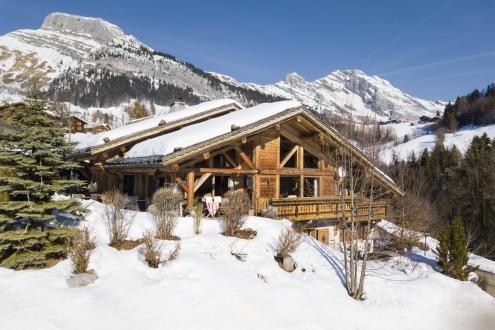 Luxus-Chalet zu verkaufen LE GRAND BORNAND, 227 m², 5 Schlafzimmer, 1470000€