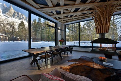 Luxury Chalet for rent CHAMONIX MONT BLANC, 1 m², 5 Bedrooms,