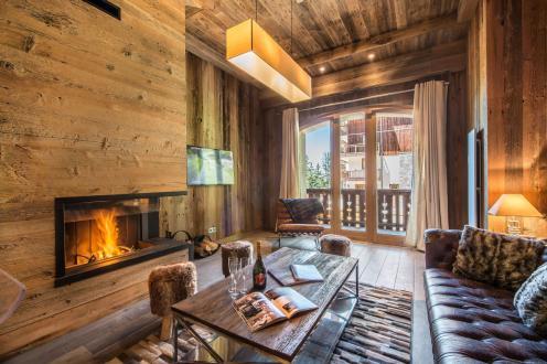 Luxus-Wohnung zu vermieten MERIBEL LES ALLUES, 96 m², 2 Schlafzimmer,