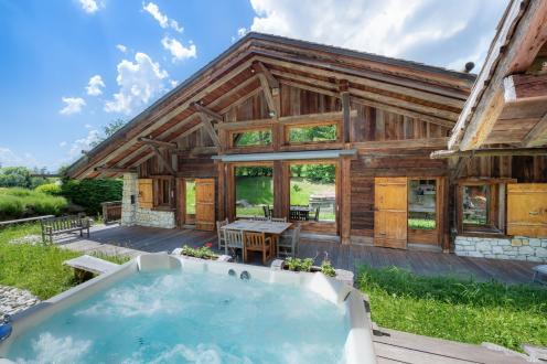Chalet de luxe à vendre DEMI QUARTIER, 404 m², 9 Chambres