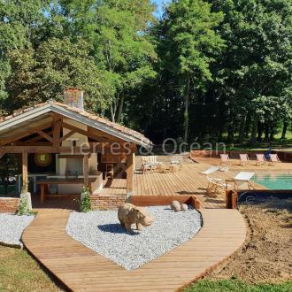 Maison de luxe à vendre MONT DE MARSAN, 260 m², 4 Chambres, 700000€