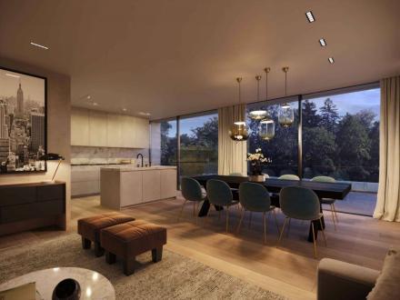 Appartamento di lusso in vendita Chêne-Bougeries, 219 m², 3550000CHF