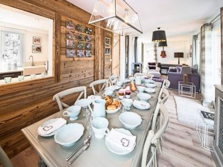Luxury Chalet for rent COURCHEVEL, 135 m², 5 Bedrooms,
