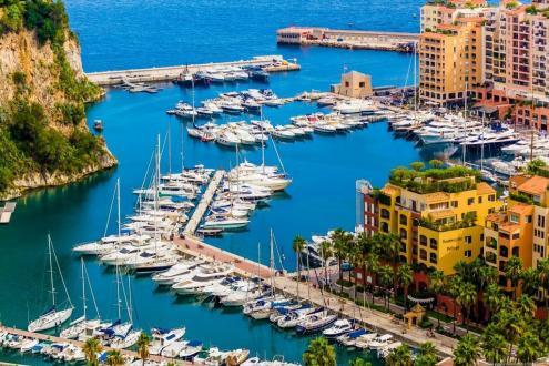 Квартира класса люкс на продажу  Монако, 54 м², 1 Спальни, 2350000€