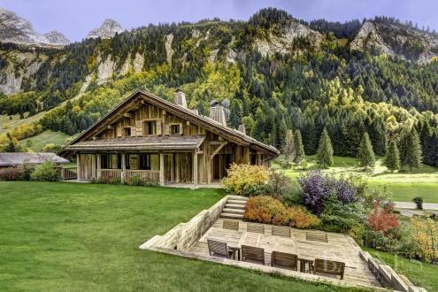 Chalet de luxe à vendre LE GRAND BORNAND, 765 m², 14 Chambres, 3700000€
