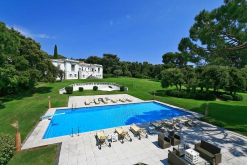 Luxus-Haus zu vermieten CAP D'ANTIBES, 775 m², 9 Schlafzimmer,