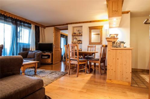 Квартира класса люкс в аренду Куршевель, 58 м², 2 Спальни