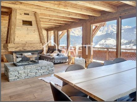Chalet de luxe à vendre COMBLOUX, 242 m², 5 Chambres, 2700000€