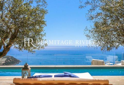 Luxury House for rent ROQUEBRUNE CAP MARTIN, 350 m², 6 Bedrooms,