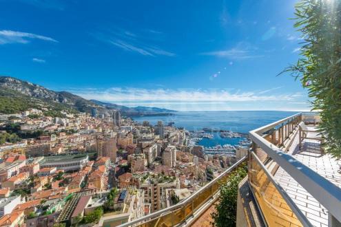 Квартира класса люкс на продажу  Монако, 174 м², 4 Спальни, 26000000€