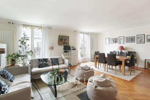 Appartement de luxe à vendre PARIS 8E, 120 m², 3 Chambres, 1630000€