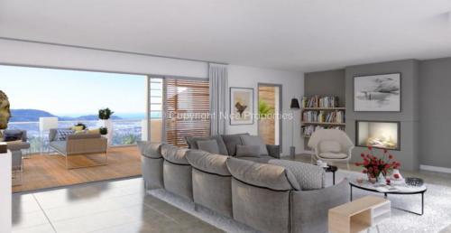 Квартира класса люкс на продажу  Ницца, 130 м², 3 Спальни, 1740000€