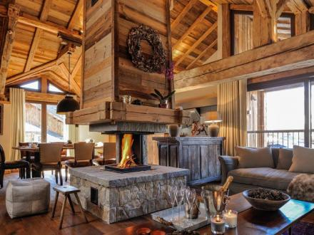 Luxus-Chalet zu verkaufen SAINT MARTIN DE BELLEVILLE, 180 m², 4 Schlafzimmer, 1800000€