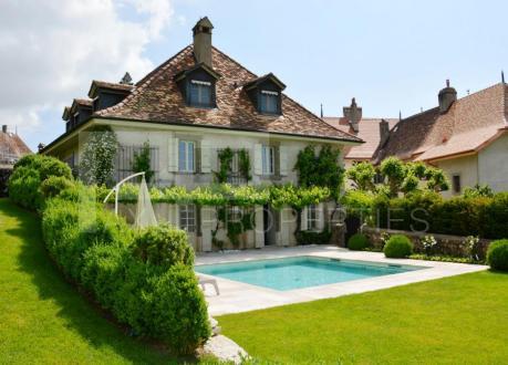 Luxe Huis te koop Bursins, 500 m², 5 Slaapkamers, 6480000CHF