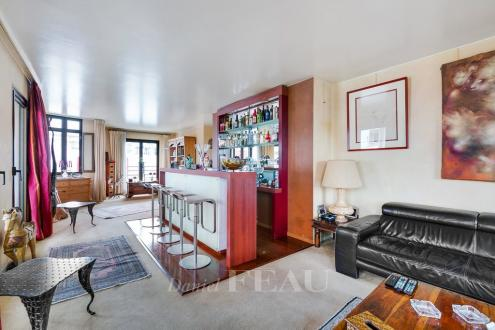 Appartement de luxe à vendre BOULOGNE BILLANCOURT, 175 m², 4 Chambres, 1790000€
