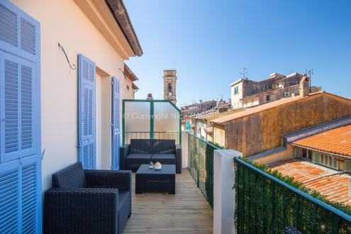 Квартира класса люкс на продажу  Ницца, 68 м², 2 Спальни, 565000€