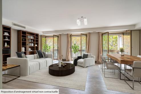 Appartement de luxe à vendre PARIS 8E, 118 m², 2 Chambres, 1980000€