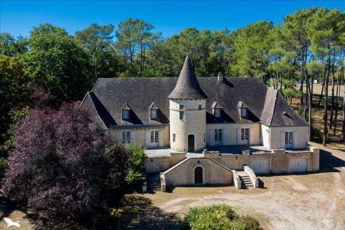 Maison de luxe à vendre SAINT MARTIAL DE NABIRAT, 295 m², 6 Chambres, 553850€