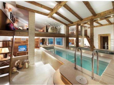 Luxus-Chalet zu vermieten COURCHEVEL, 300 m², 6 Schlafzimmer,