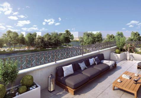Appartement de luxe à vendre LE VESINET, 128 m², 4 Chambres, 1080000€